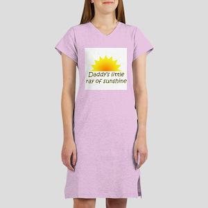 Daddy's ray of sunshine Women's Nightshirt