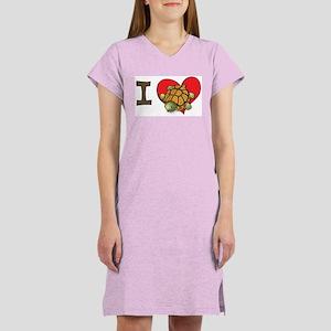 I heart turtles Women's Nightshirt