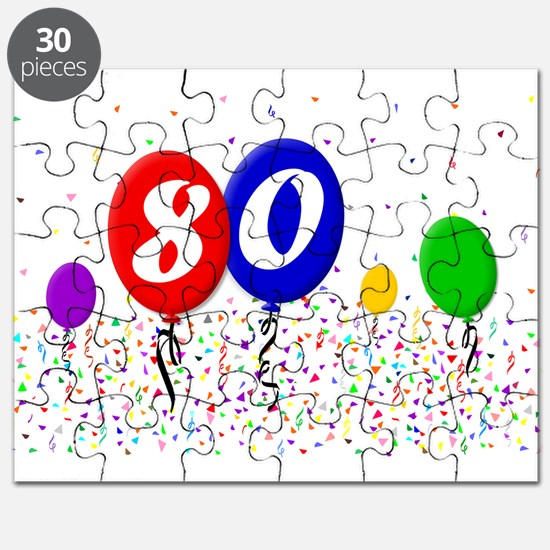 80th Birthday Puzzle