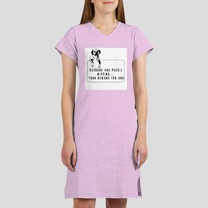 puggle humor tshirt Women's Nightshirt