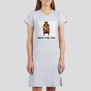 Guinea Pigs Rule Women's Nightshirt