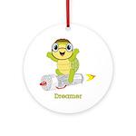 Turtle Dreamer™ Ornament (Round)