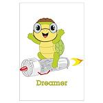 Turtle Dreamer™ Large Poster