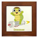 Turtle Dreamer™ Framed Tile
