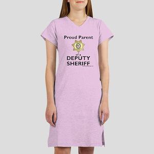 Parent of a Deputy Sheriff Women's Nightshirt