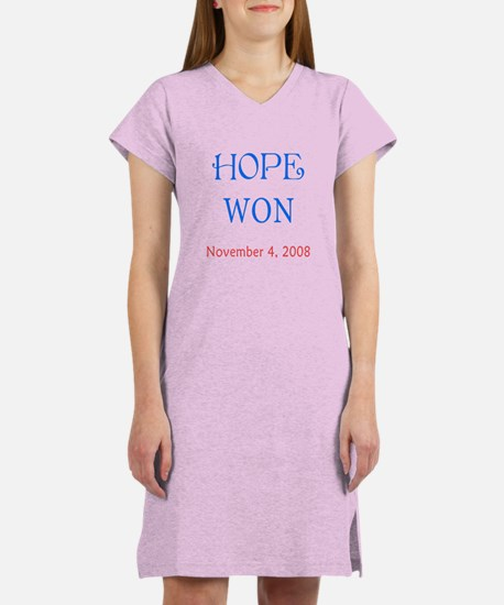 Hope Won Women's Nightshirt
