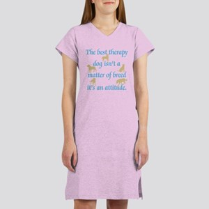 Best Therapy Dog Women's Nightshirt