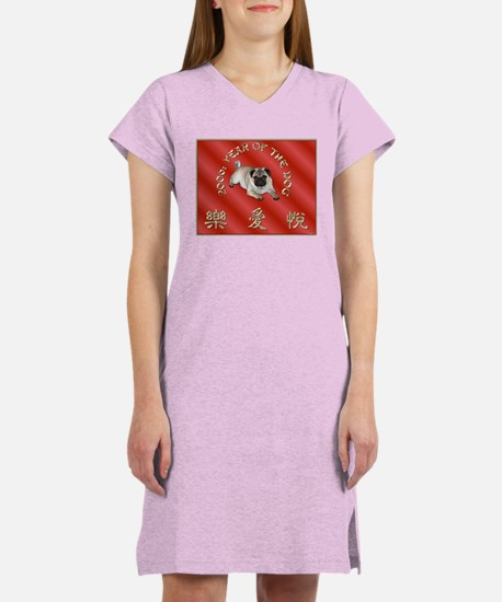 Year Of The Pug Women's Nightshirt