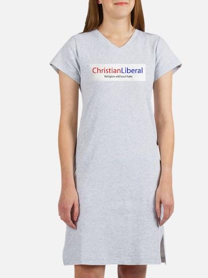 Christian Liberal Women's Pink Nightshirt