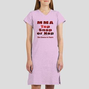 Tap Snap or Nap Women's Nightshirt