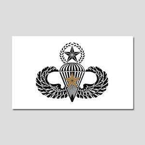 Combat Parachutist 1st awd Master B-W Car Magnet 2