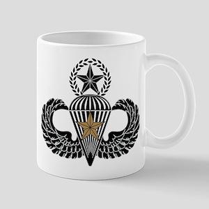 Combat Parachutist 1st awd Master B-W Mug