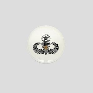 Combat Parachutist 1st awd Master B-W Mini Button