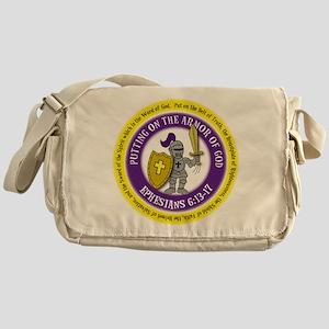 Ephesians Round Messenger Bag