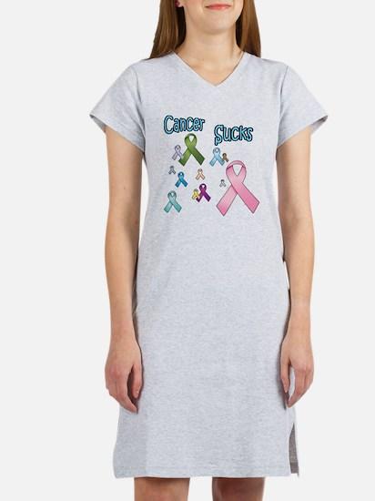 Cancer Sucks 08 Women's Nightshirt