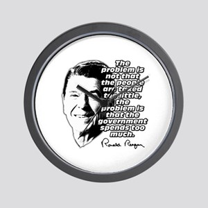 Ronald Reagan Quote Government Spending Too High W