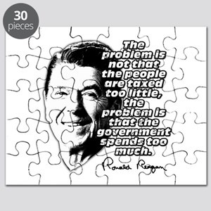 Ronald Reagan Quote Government Spending Too High P