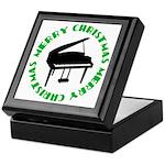 Piano Christmas Keepsake Box