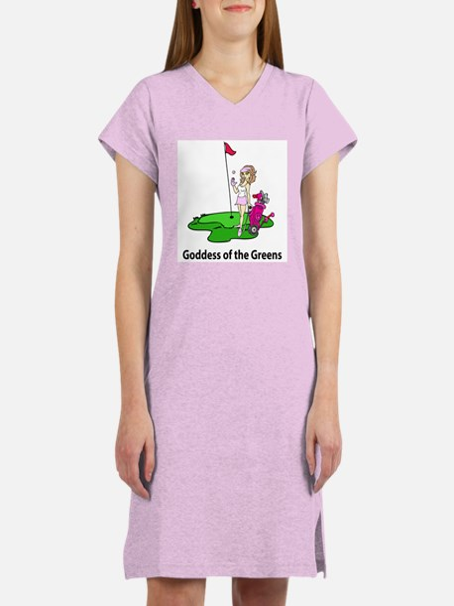 Goddess of Golf Women's Nightshirt