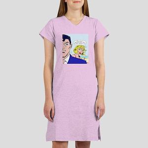 Wittgenstein Pop Art Women's Nightshirt