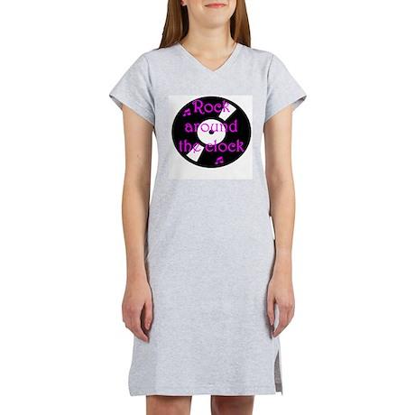 Rock Around the Clock Women's Nightshirt