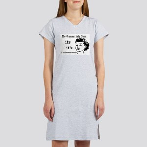 It's and Its Women's Nightshirt