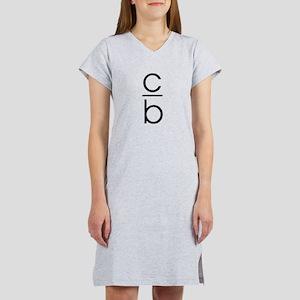 """C Over B"" Women's Nightshirt"
