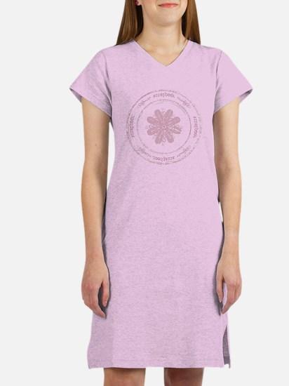 Scrapbook Women's Nightshirt