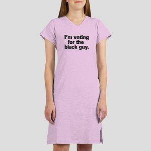 """Black Guy"" Women's Nightshirt"