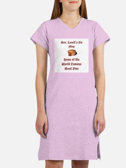 Mrs.Lovett's Pies Women's Nightshirt