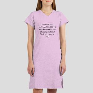 Retire #4 Women's Nightshirt