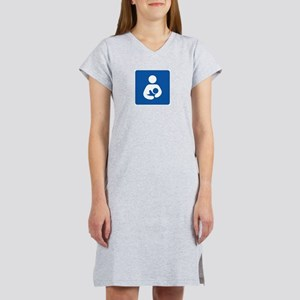 International Breastfeeding Symbol Women's Nightsh