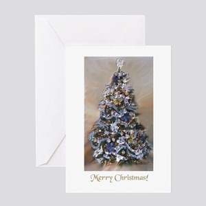 Shimmer Tree Greeting Card