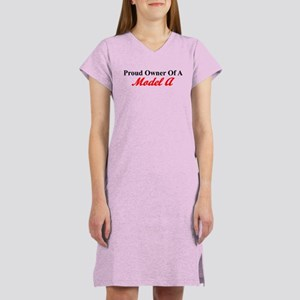 Proud of My Model A Women's Nightshirt