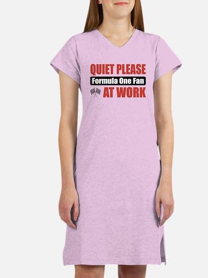 Formula One Fan Work Women's Nightshirt