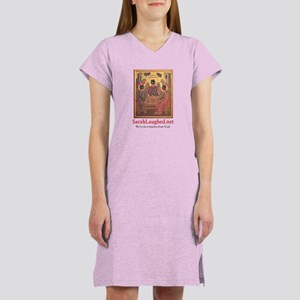 SarahLaughed.net Women's Nightshirt