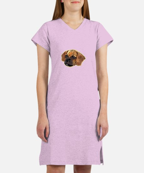 Unique Puggle owners Women's Nightshirt