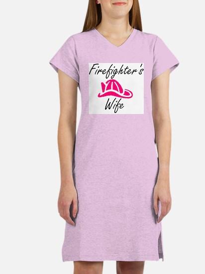 Firefighter's Wife Women's Nightshirt