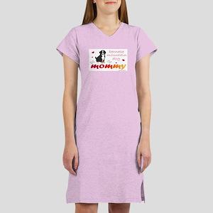 bernese mountain dog Women's Nightshirt