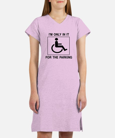 In It For The Parking Women's Nightshirt