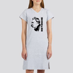 Strk3 Nietzsche Women's Nightshirt