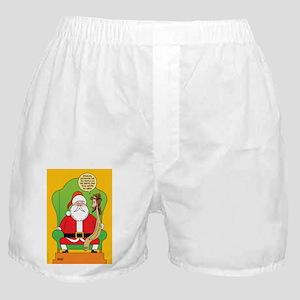 Santa & Jesus Boxer Shorts