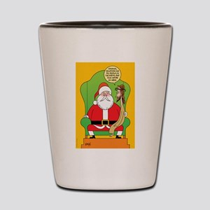 Santa & Jesus Shot Glass