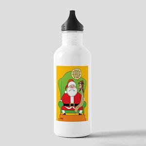 Santa & Jesus Stainless Water Bottle 1.0L