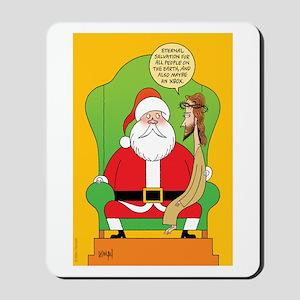 Santa & Jesus Mousepad