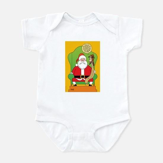 Santa & Jesus Infant Bodysuit