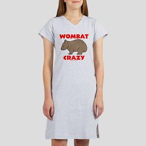 Wombat Crazy Women's Nightshirt