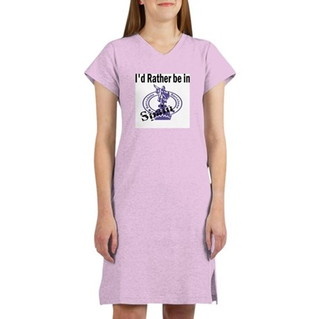 I'd Rather Be in Spain Women's Nightshirt
