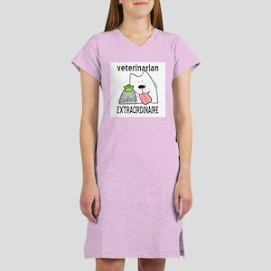 Veterinarian Extraordinaire Women's Nightshirt