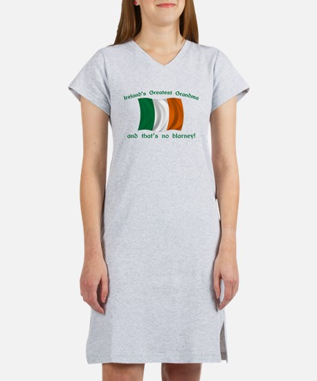 Ireland's Greatest Grandma Women's Nightshirt